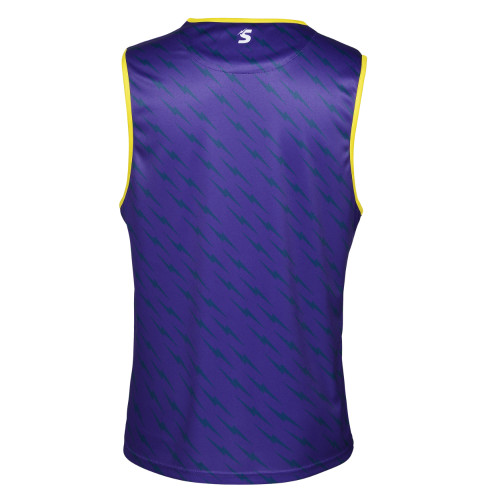 Melbourne Storm 2021 Castore Mens Training Singlet Purple