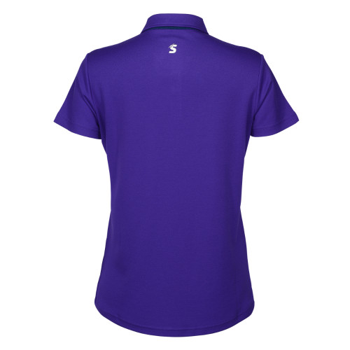 Melbourne Storm 2021 Castore Womens Media Polo Purple