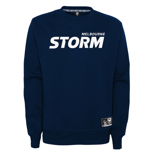 Melbourne Storm 2021 Outerstuff Mens Team Crew