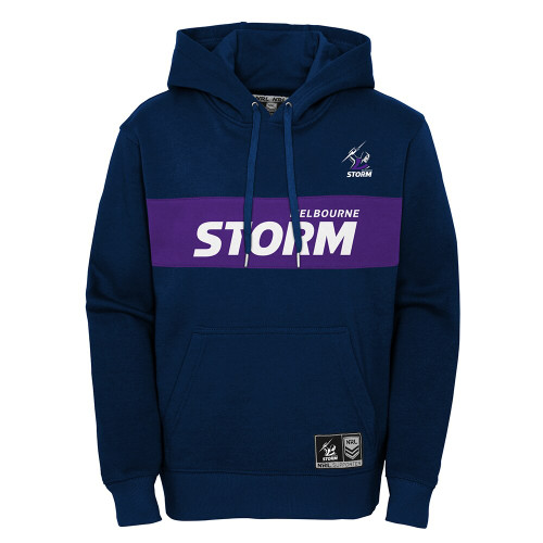 Melbourne Storm 2021 Outerstuff Kids Panel OTH Hoody