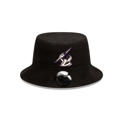 Melbourne Storm New Era Bucket Hat Black Pop