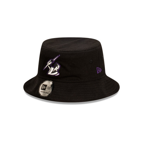 Melbourne Storm New Era Bucket Hat Black Pop
