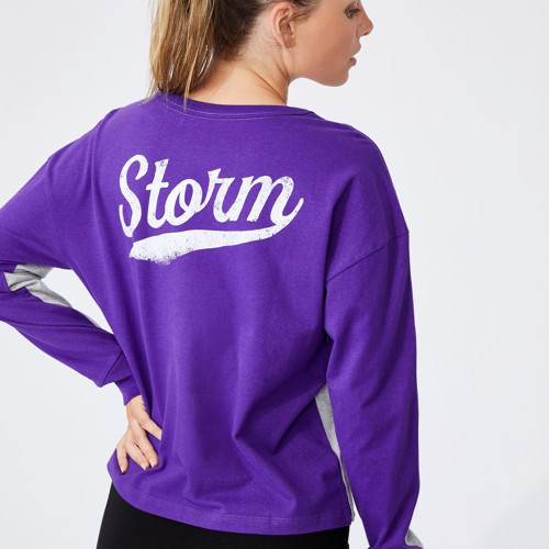 Melbourne Storm 2021 CottonOn Womens Chopped L/S Tee