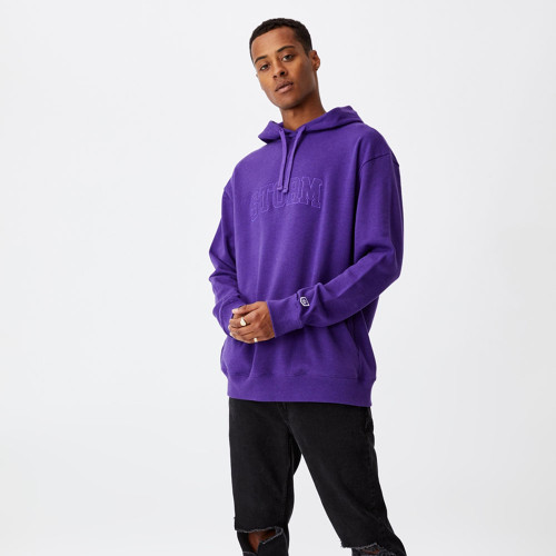 Melbourne Storm 2021 CottonOn Mens Embroidered Hoody