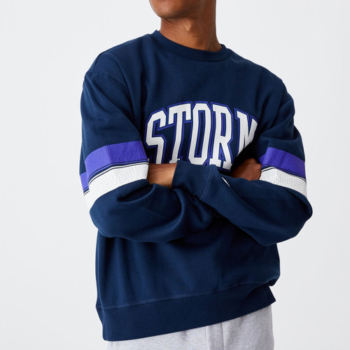 Melbourne Storm 2021 CottonOn Mens Colour Block Crew