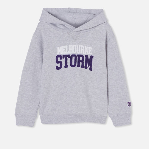 Melbourne Storm 2021 CottonOn Kids Embroidered Hoody