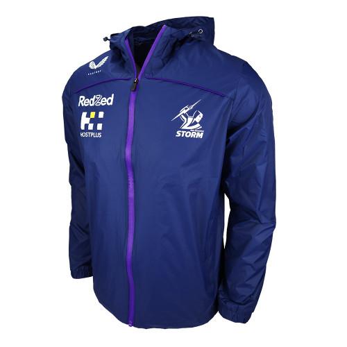 Melbourne Storm 2021 Castore Mens Rain Jacket