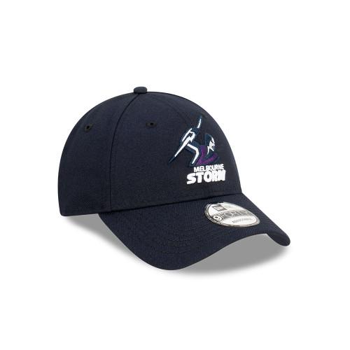 Melbourne Storm New Era 9Forty Core Snapback Cap Navy