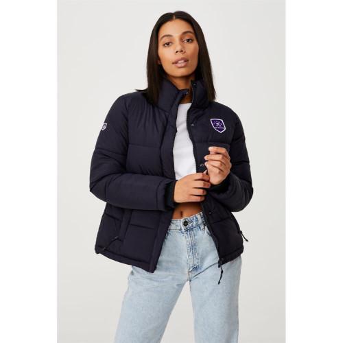 Melbourne Storm 2021 CottonOn Womens Puffa Jacket
