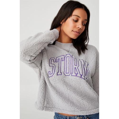 Melbourne Storm 2021 CottonOn Womens Teddy Crew