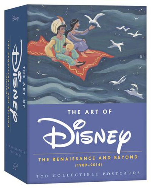 ART OF DISNEY POSTCARD BOX