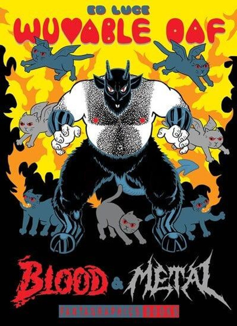 WUVABLE OAF BLOOD AND METAL HC