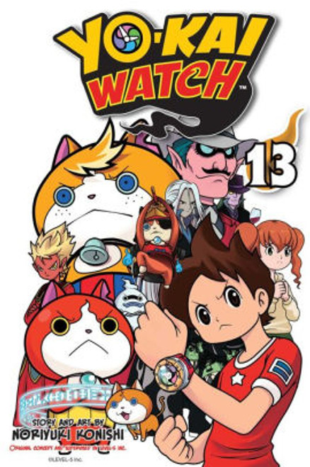 YO-KAI WATCH VOL 13