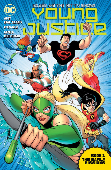 YOUNG JUSTICE ANIMATED TP BOOK 01