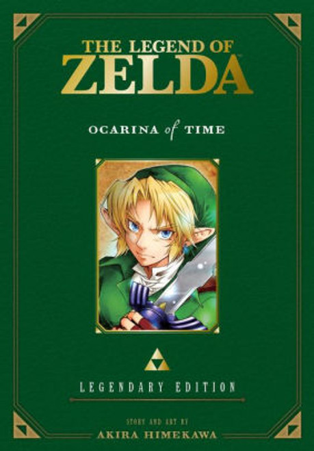 ZELDA LEGENDARY EDITION VOL 01 OCARINA OF TIME
