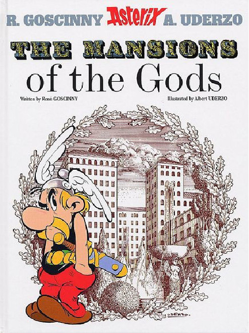 ASTERIX VOL 17 MANSIONS OF THE GODS SC