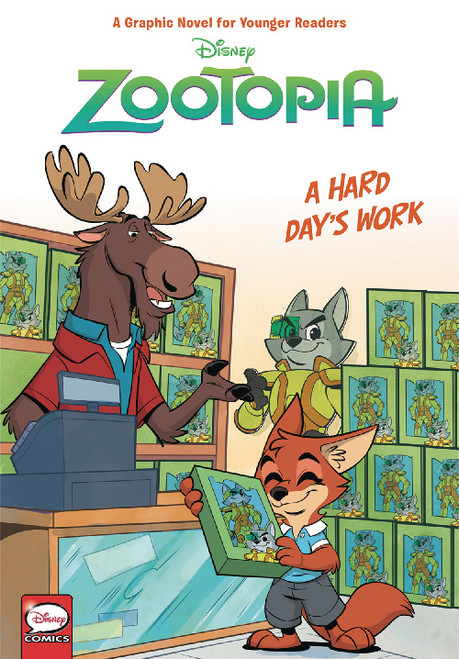 DISNEY ZOOTOPIA A HARD DAYS WORK HC