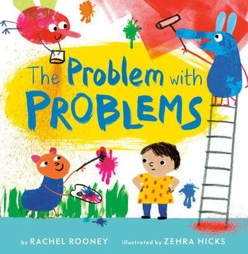 PROBLEM WITH PROBLEMS HC SIGNED BY RACHEL ROONEY & ZEHRA HICKS
