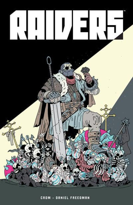 PRE-ORDER: RAIDERS GN SIGNED BY CROM