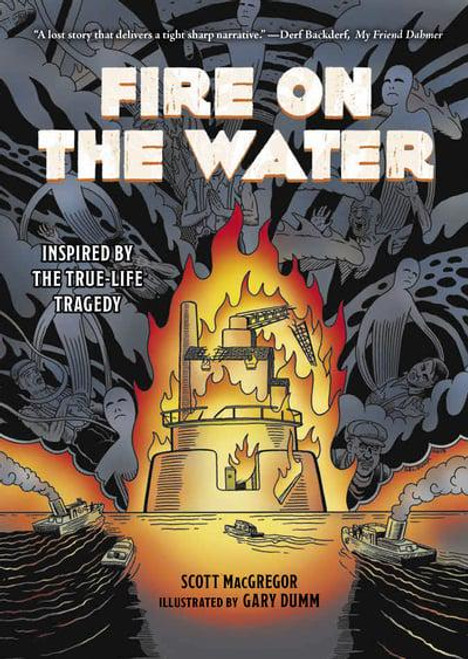 FIRE ON THE WATER HC