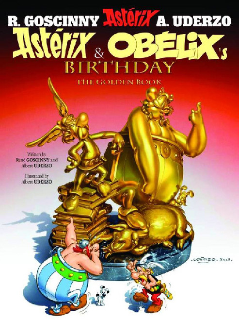 ASTERIX VOL 34 ASTERIX & OBELIX'S BIRTHDAY