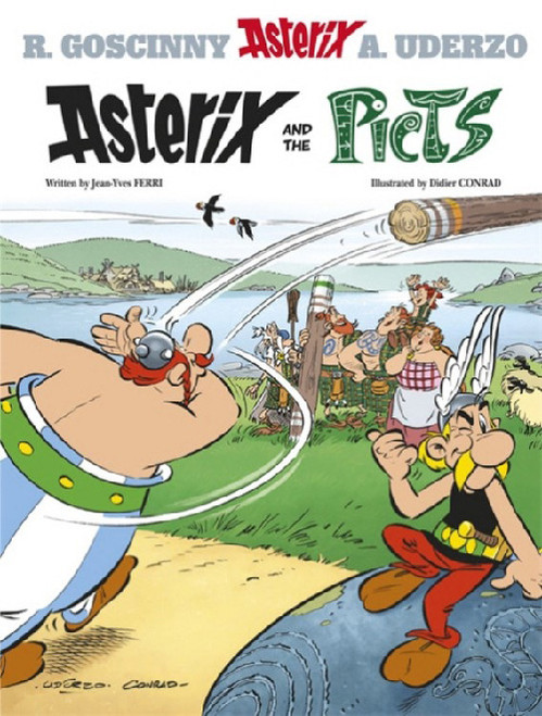 ASTERIX VOL 35 THE PICTS SC