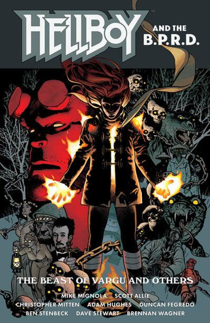 HELLBOY AND THE BPRD BEAST OF VARGU & OTHER STORIES TP