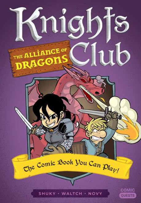 COMIC QUESTS SC VOL 04 KNIGHTS CLUB THE ALLIANCE OF DRAGONS