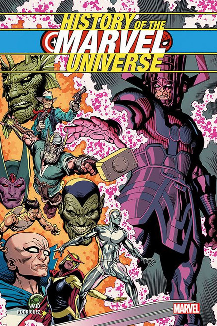 HISTORY OF MARVEL UNIVERSE SC