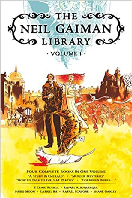 NEIL GAIMAN LIBRARY VOL 01 HC