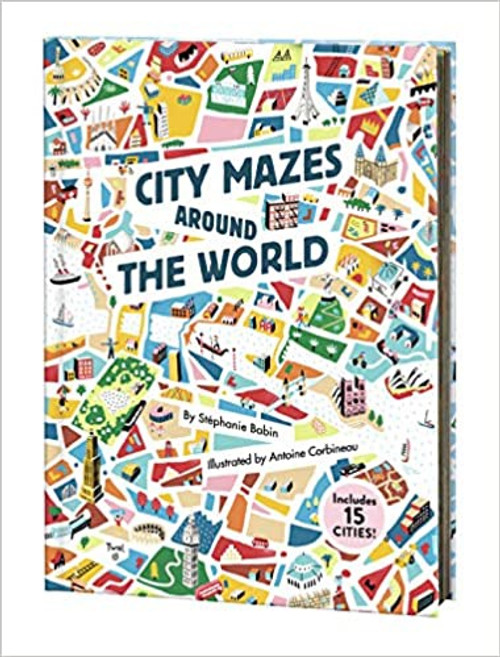 CITY MAZES AROUND THE WORLS HC