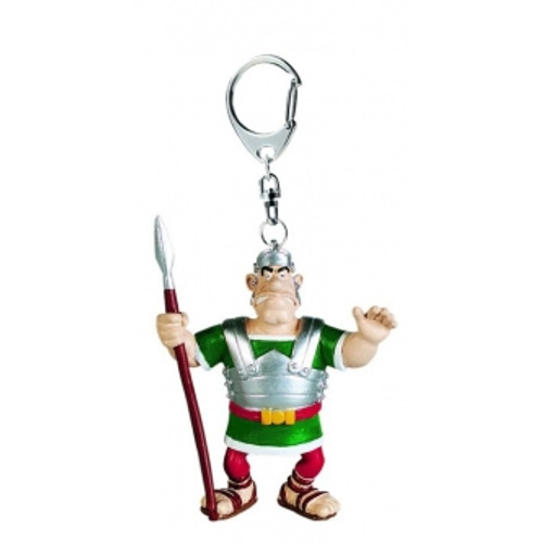 ASTERIX KEYRING LEGIONAR WITH LANCE