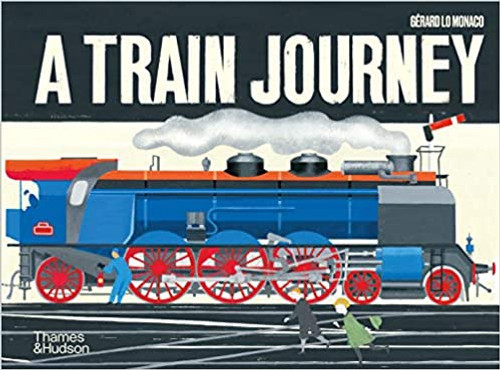 A TRAIN JOURNEY POP UP BOOK
