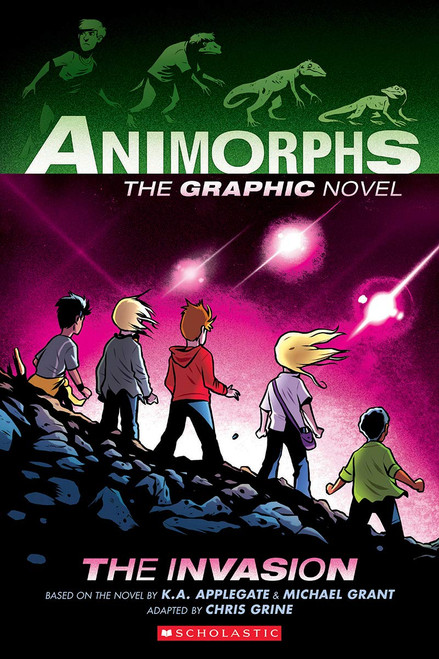 ANIMORPHS GN VOL 01 THE INVASION