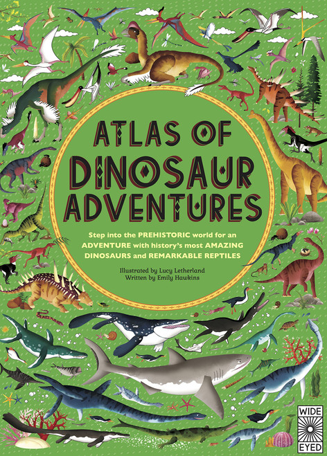 ATLAS OF DINOSAUR ADVENTURE HC