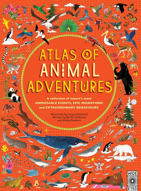 ATLAS OF ANIMAL ADVENTURES HC