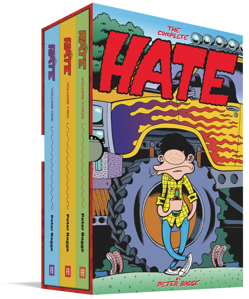 THE COMPLETE HATE HC BOX SET