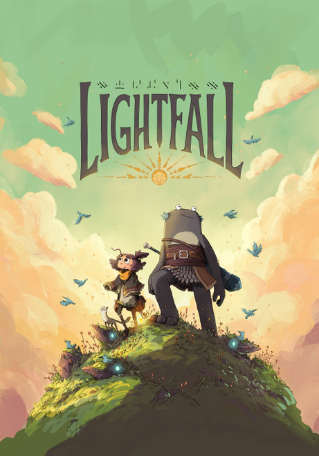 LIGHTFALL GN VOL 01 THE GIRL AND THE GALDURIAN