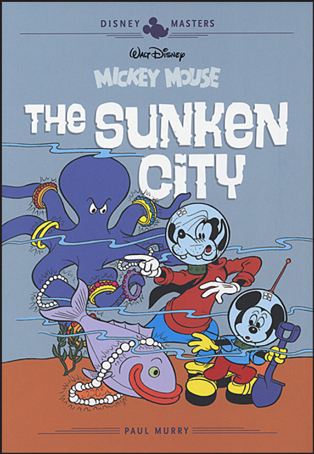 DISNEY MASTERS HC VOL 13 MURRY FALLBERG MICKEY MOUSE SUNKEN CITY
