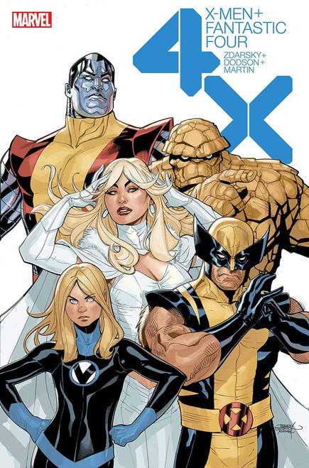 X-MEN FANTASTIC FOUR TP UK ED