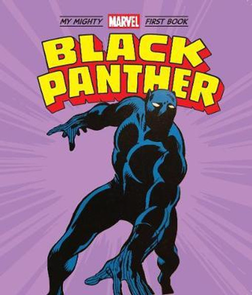 BLACK PANTHER MY MIGHTY MARVEL FIRST BOARD BOOK