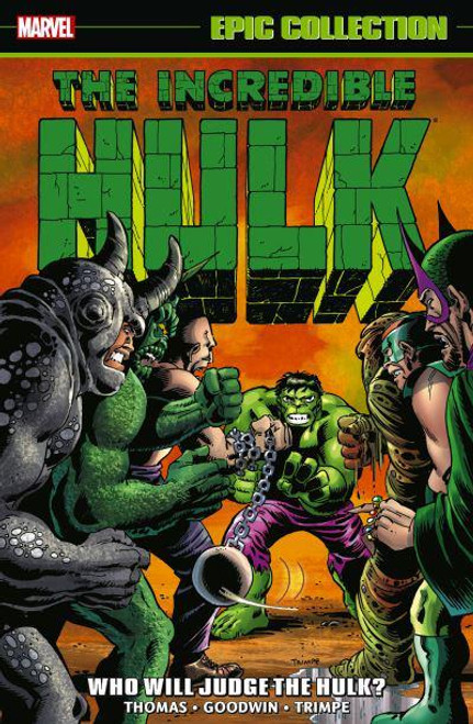 INCREDIBLE HULK EPIC COLLECTION TP WHO WILL JUDGE THE HULK
