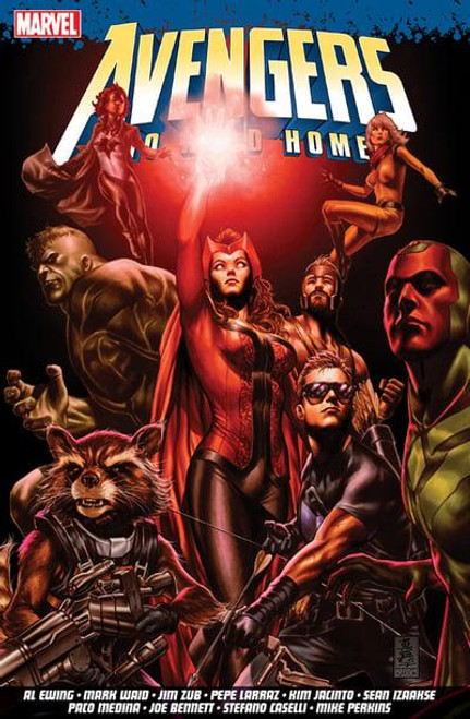 AVENGERS NO ROAD HOME TP UK EDITION