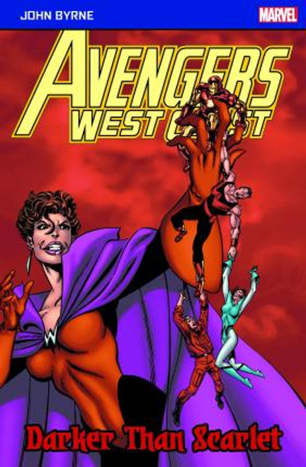 AVENGERS WEST COAST DARKER THAN SCARLET POCKETBOOK