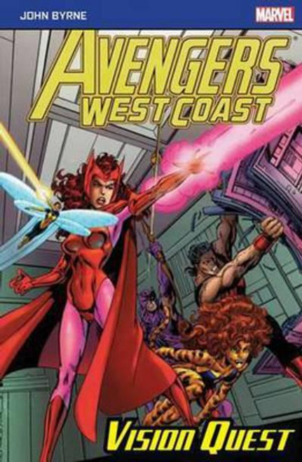 AVENGERS WEST COAST VISION QUEST POCKETBOOK