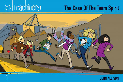 BAD MACHINERY POCKET EDITION GN VOL 01