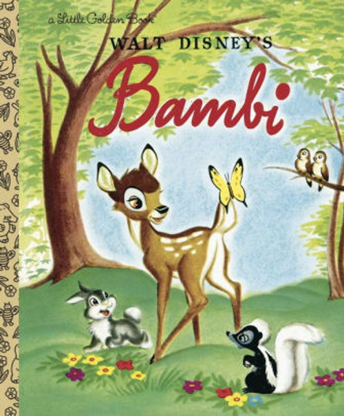 BAMBI LITTLE GOLDEN BOOK NEW ED