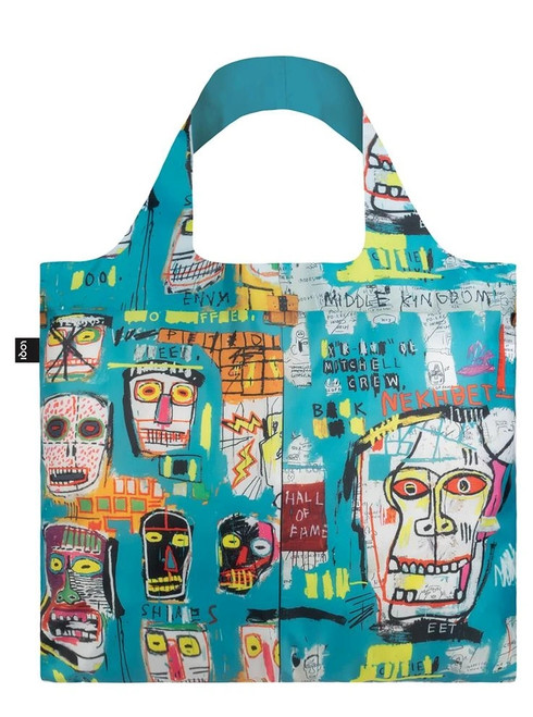 JEAN MICHEL BASQUIAT SKULL BAG