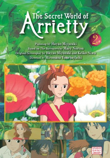 ARRIETTY FILM COMIC VOL 02