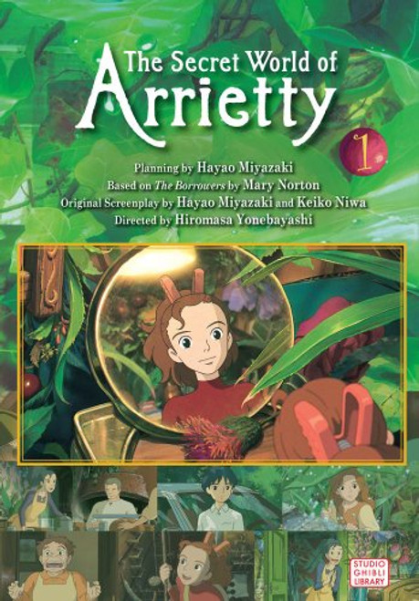 ARRIETTY FILM COMIC VOL 01